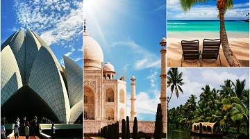 GOLDEN TRIANGLE WITH GOA AND KERALA TOUR